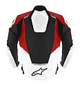 """Куртка Alpinestars JAWS кожа black\white\red """"50"""", фото 2"""