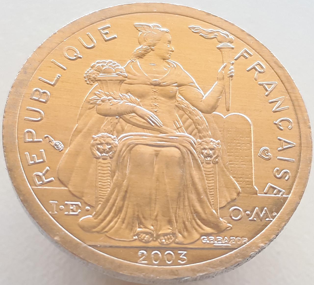 Французька Полінезія 1 франк 2003