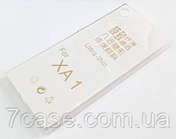 Чехол для Sony Xperia XA1 G3112 / G3121 / G3125 / G3116 / G3123 силиконовый ультратонкий прозрачный