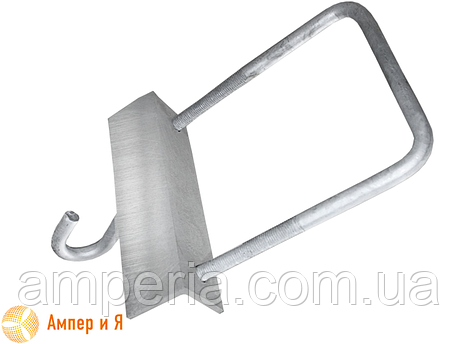 Крюк КХ 1 (сталь) ЛИЗО, фото 2