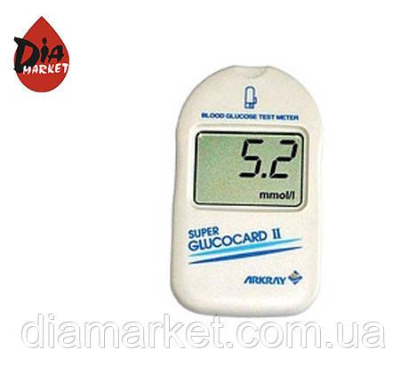 Глюкометр Супер Глюкокард 2 (Super Glucocard 2)(Япония)