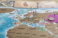 Скретч карта мира My Vintage Map