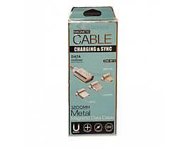 Магнитный кабель USB - microUSB, фото 3