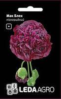 Семена мака Блэк, 0,2 гр., пионовидный черный