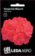 Семена пеларгонии Мирка F1, 5 сем., карминная