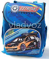 Школьный каркасный рюкзак для мальчиков Cars Extreme синий