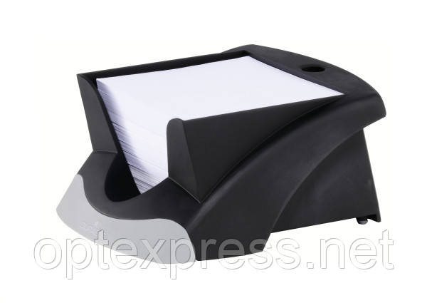 Подставка с бумагой для заметок Vegas DURABLE  черная