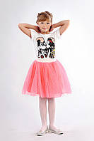 Яркая юбка-пачка для девочки