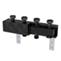 Распределительный коллектор с гидравлическим сепаратором для насосных групп, 2 контура. HIDROFIXX арт. 3318-2