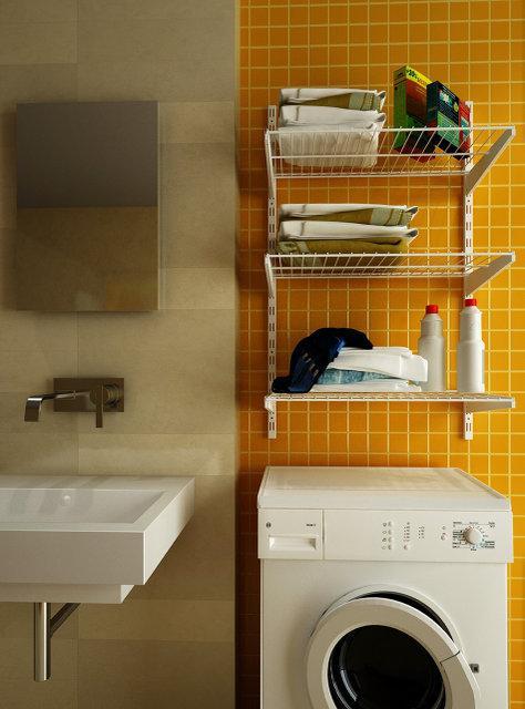 Гардеробная система хранения для ванной комнаты