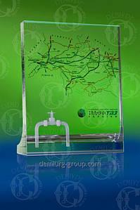 Эксклюзивный корпоративный сувенир с лазерной 3D гравировкой