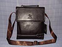 Мужская сумка Gorangd X9821-1 коричневая искусственная кожа, фото 1