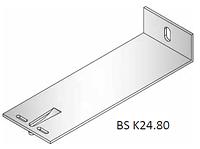 Кронштейн алюминиевый фасадный 240х80х40
