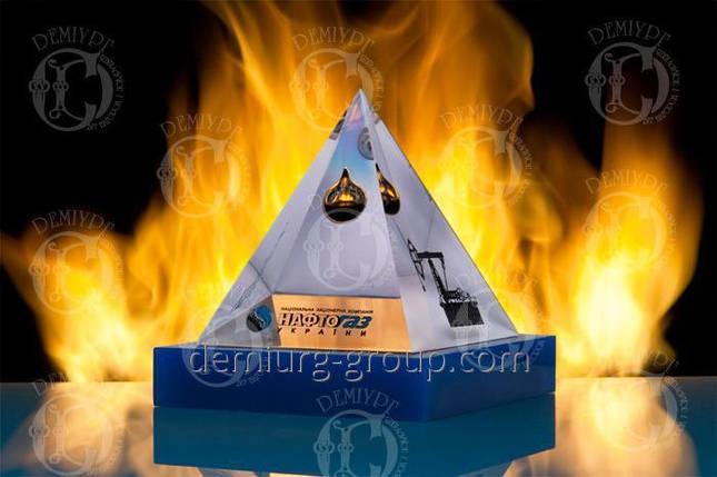 """Эксклюзивный корпоративный подарок из литого акрила  """"Пирамида """", фото 2"""