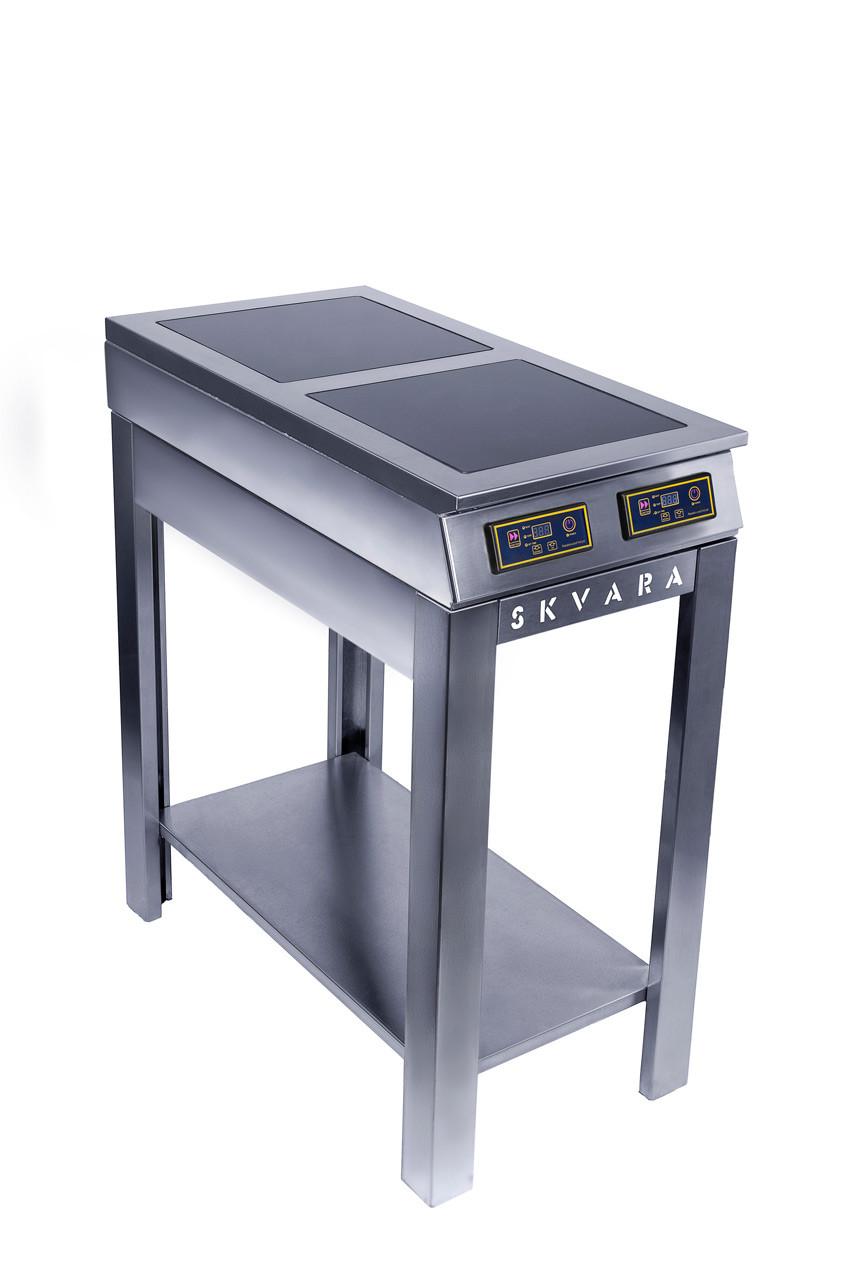 Індукційна плита 2х конф. підлогова SKVARA 3,5 кВт