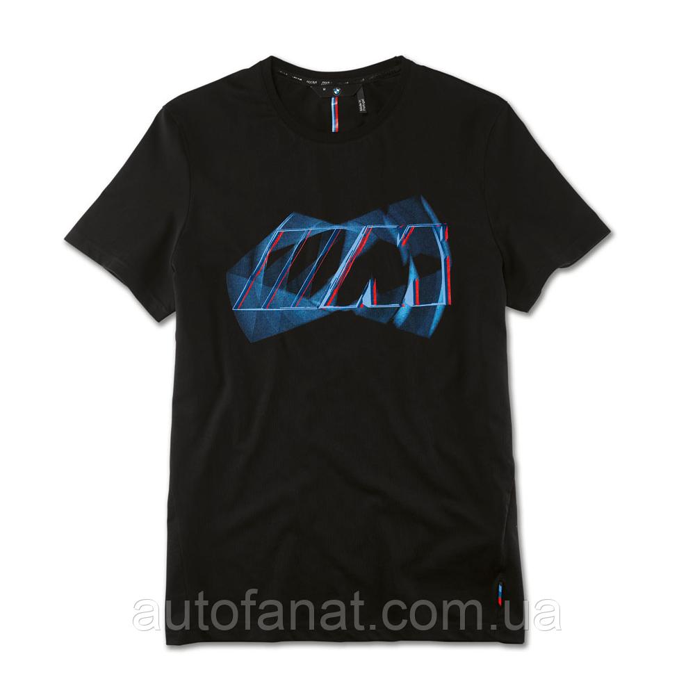 Оригинальная мужская футболка BMW M Logo T-Shirt, Men, Black (80142454734)
