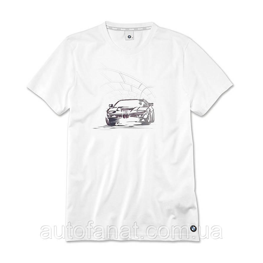Оригинальная мужская футболка BMW Graphic T-Shirt, Men, White (80142454610)