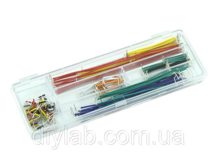 Набір перемичок для Breadboard Arduino 140шт, фото 1