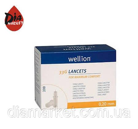 Ланцеты (универсальные) Веллион/Wellion (Австрия) 200шт