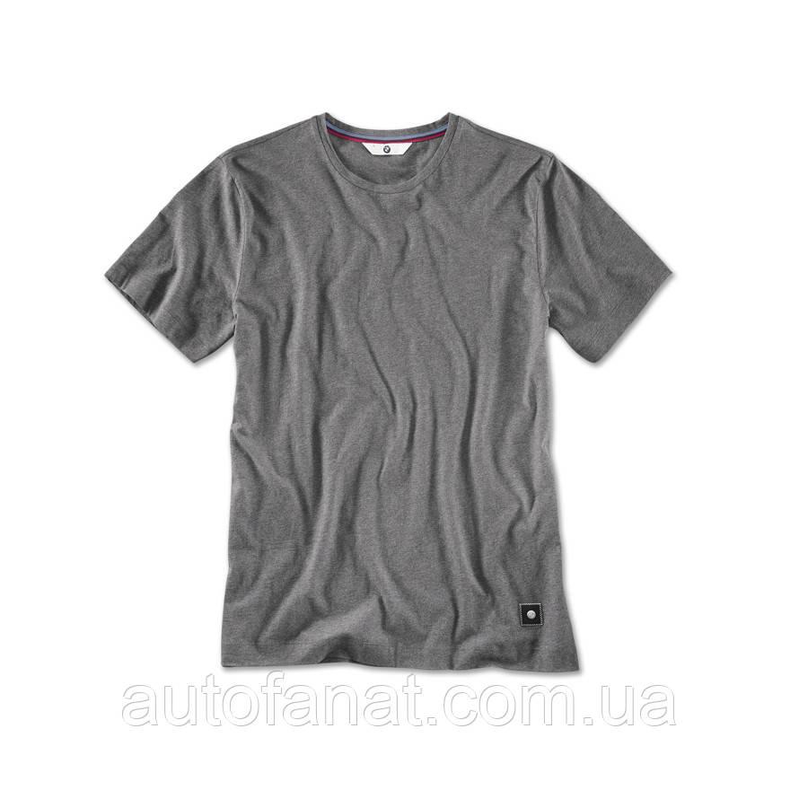 Мужская футболка BMW T-Shirt, Men, Space Grey Melange