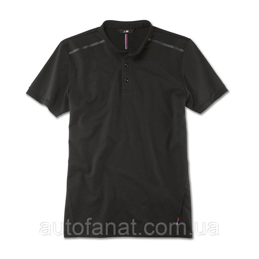 Мужская рубашка-поло BMW M Polo Shirt, Men, Black Styling (80142454714)