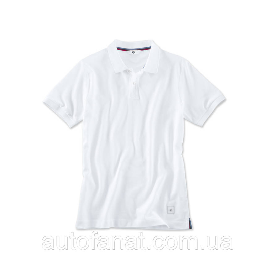 Мужская рубашка-поло BMW Classic Polo Shirt, Men, White (80142411077)