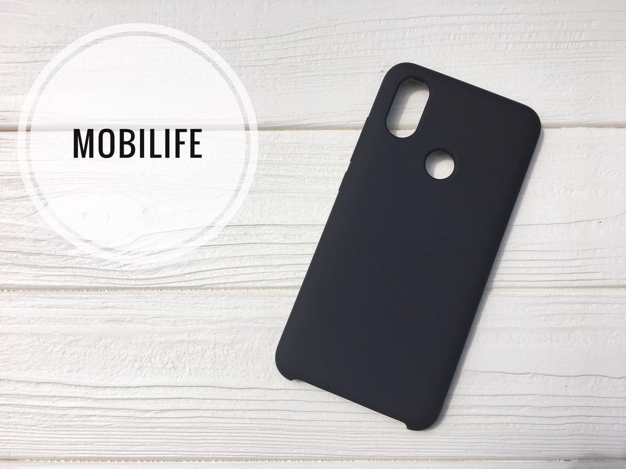 Чехол Silicon case original Xiaomi Mi 6x A2 черный