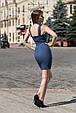 "Платье-майка ""Линда"" джинс-стрейч , фото 3"