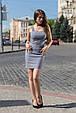 "Платье-майка ""Линда"" джинс-стрейч , фото 4"