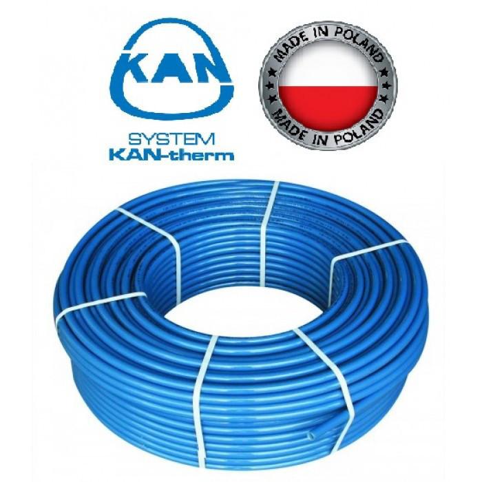 Труба антидиффузионная для опалення (б. 200м.) 18х2 Blue Floor PE - RT KAN - therm