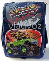 Школьный каркасный рюкзак для мальчиков Off road синий