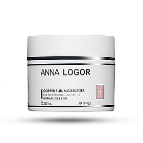Крем анти-оксидантный, увлажняющий Anna LOGOR Copper Plus Moisturizer 250 ml Art.423