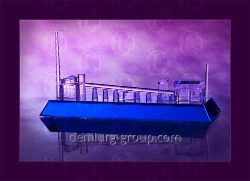 Эксклюзивный сувенир из прозрачного и цветного стекла, фото 2