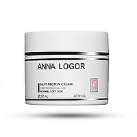 Живильний крем з протеїнами шовку Анна Логор / Anna Logor Silky Protein Cream 250 мл Код 424