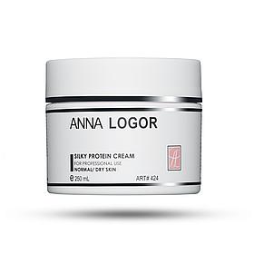Крем питательный с протеинами шелка Anna LOGOR Silky Protein Cream 250 ml Art.424
