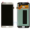 Дисплей (экран) для Samsung G935F Galaxy S7 Edge + тачскрин, цвет серебристый, оригинал
