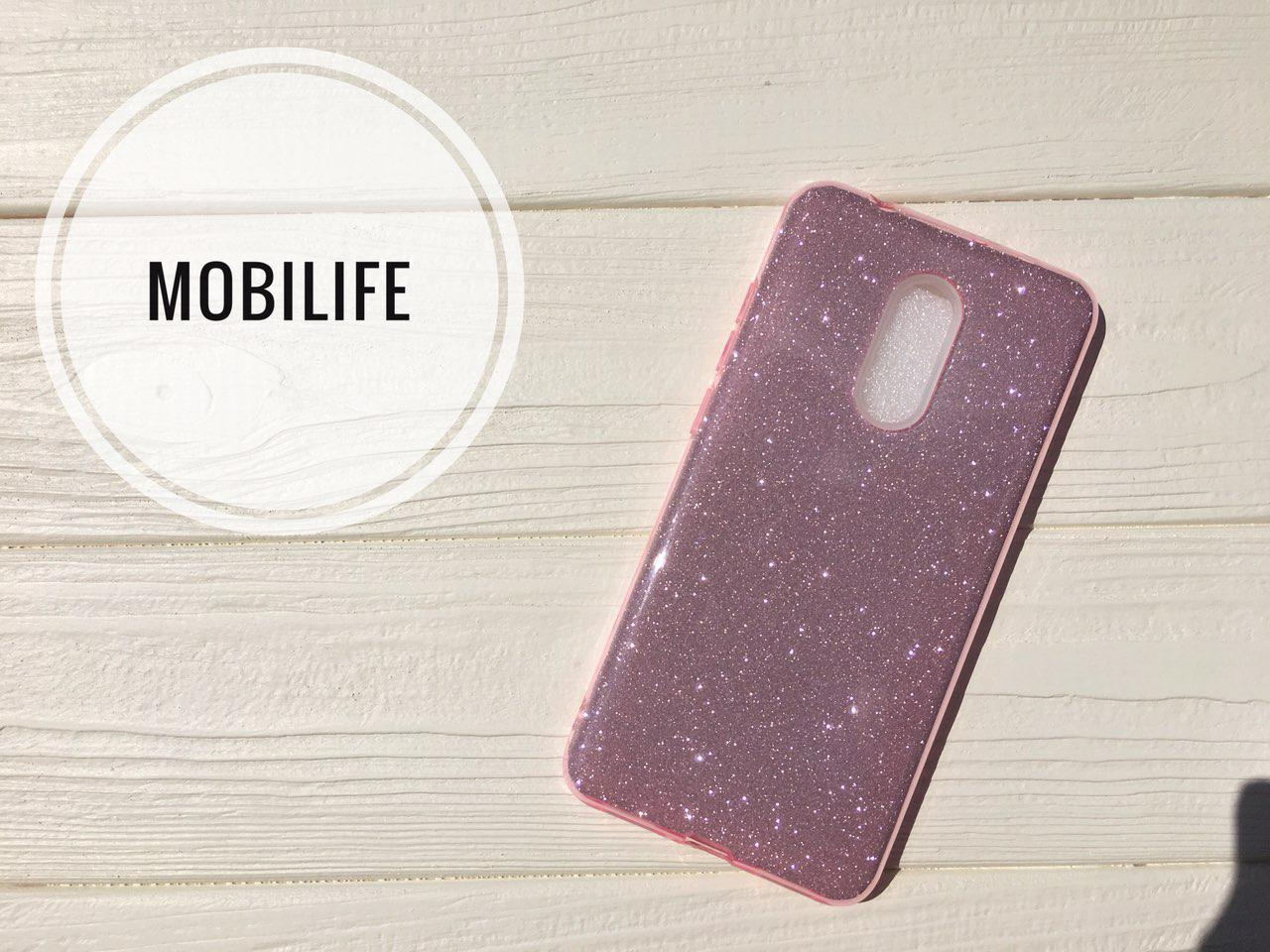 Чехол силиконовый Shine Xiaomi Redmi 5 розовый