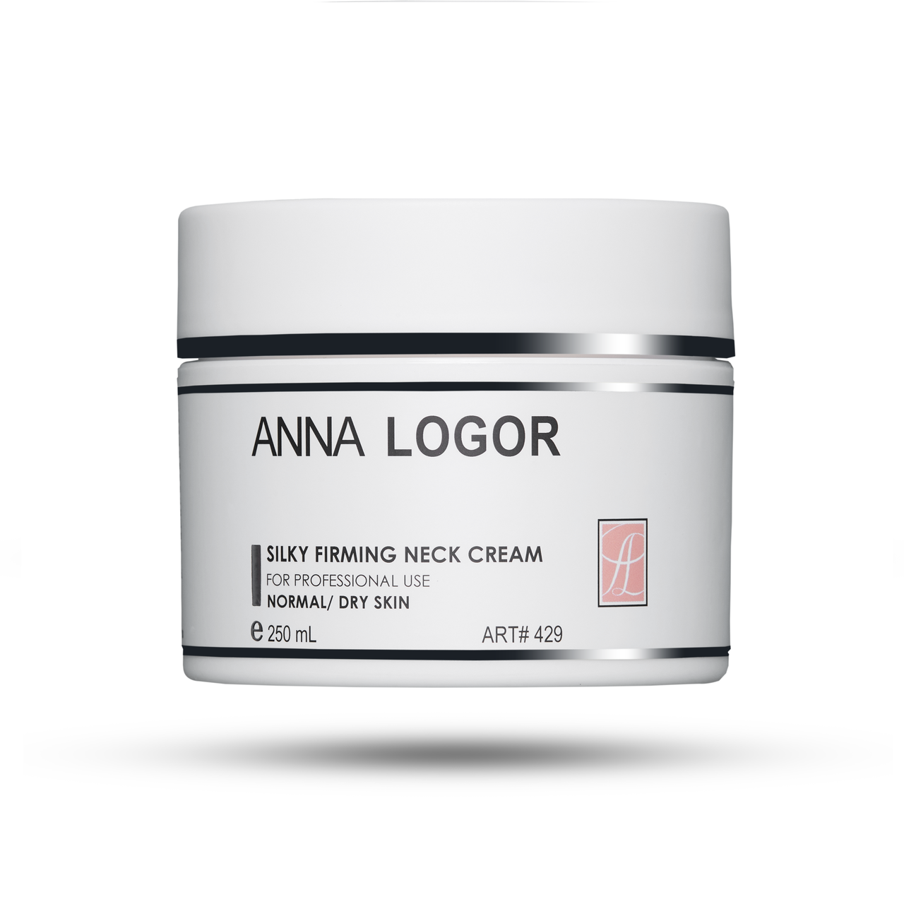 Зміцнюючий крем для шиї та декольте Анна Логор / Anna Logor Silky Firming Neck Cream 250 мл Код 429