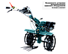 Культиватор бензиновый Konner&Sohnen KS 13HP-1350BG (13 л.с., 5.00-12″), фото 2
