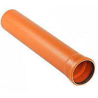 Труба канализационная ПВХ D110х2,2мм 1м