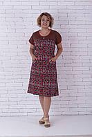 Женский летний халат сердечки, фото 1
