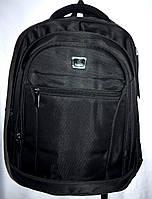 Мужской черный рюкзак хорошего качества 32*46 см, фото 1