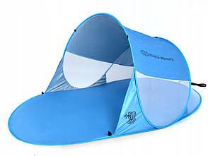 Саморозкладний пляжний намет 220х130х90см