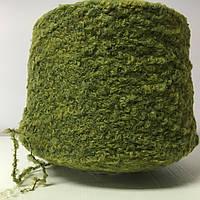 Итальянская пряжа Lineapiu SPA  ESKIMO (зеленый) Альпака 36 %,меринос 24%, акрил 30%, полиамид 10%. 200 м./100