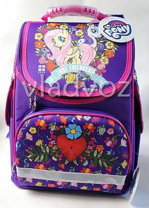 Школьный каркасный рюкзак для девочек маленький понни  LP Pony Kite, фото 2