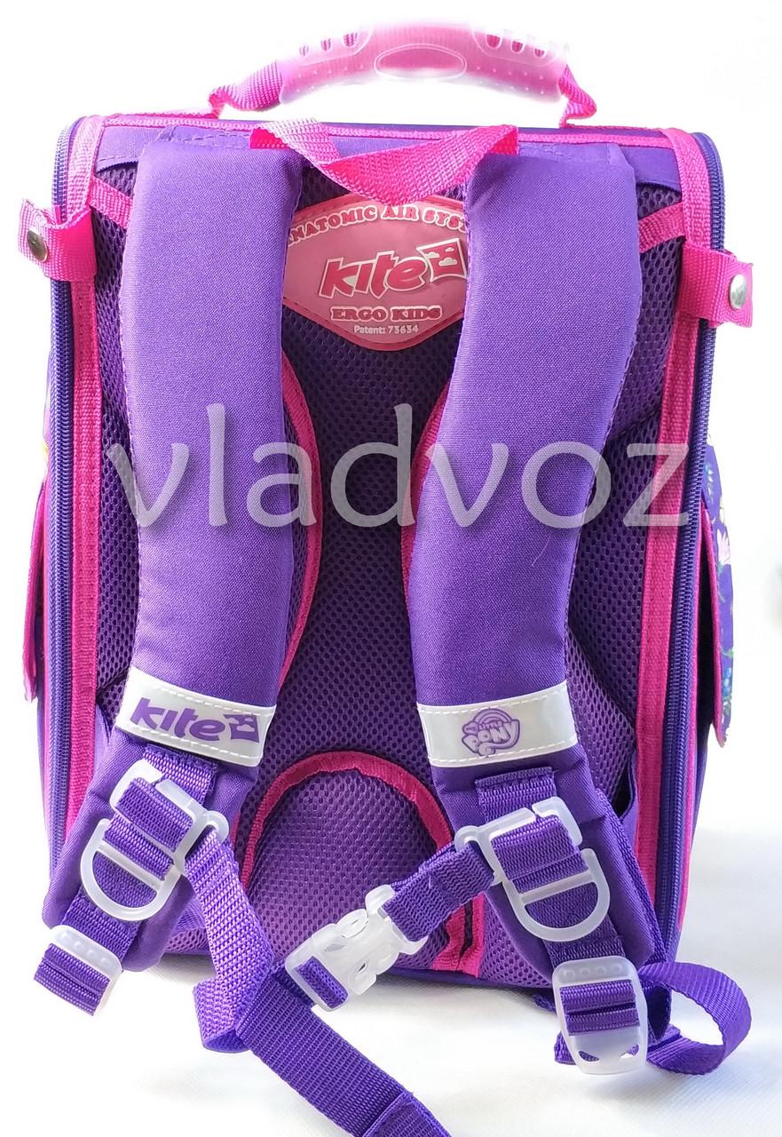Школьный каркасный рюкзак для девочек Piny малиновый