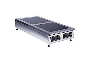 Плита індукційна 2х конф. настільна SKVARA SIT 2.6 - 3 кВт