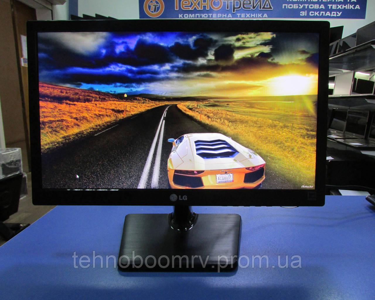 Монитор LG 19M37A-B - TN+film матрица/1366x768/ LED/ 16:9/5 мс/VGA