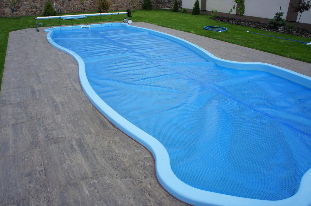Солярное накрытие на бассейн