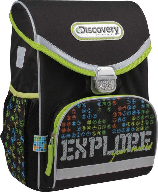 Рюкзак школьный каркасный 13 л Discovery, KITE (Германия)